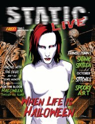 Static Live Magazine October 2020