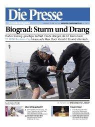 Die Presse - Pitter Regatten 2011
