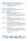 3. Zurich Forum for Applied Sport Sciences Donnerstag, 30 ... - SART - Seite 3