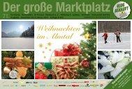 Das aktuelle Marktplatz-Heft 71 - bei Almtalonline.at
