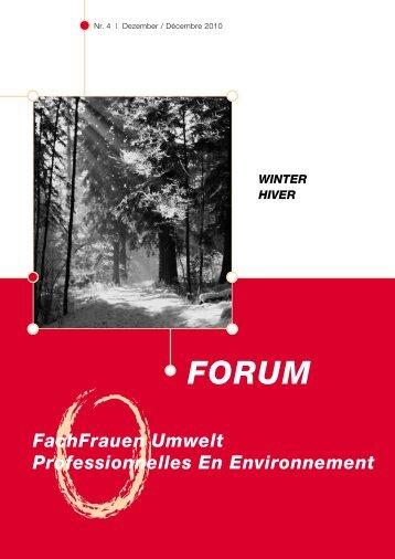 forum - FachFrauen Umwelt