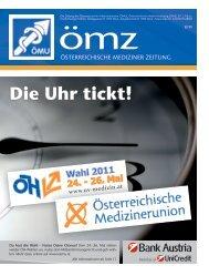 Die Uhr tickt! - Österreichische Medizinerunion