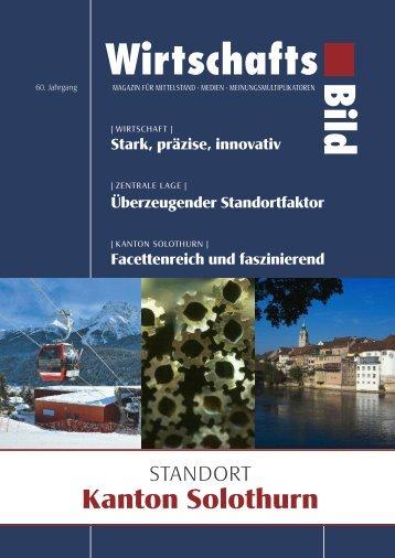 Standort Kanton Solothurn - Solothurner Handelskammer