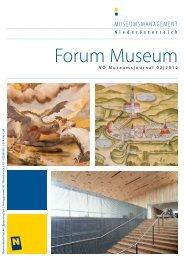 Forum Museum - Museumsmanagement Niederösterreich