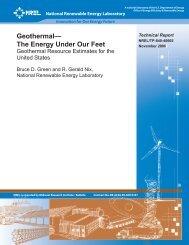 Geothermal -- The Energy Under Our Feet - EERE - U.S. Department ...