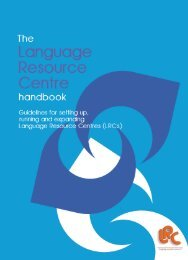 The Language Resource Centre handbook: guidelines - Lrcnet.org