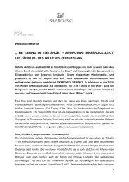 Download PDF (198.3 kb) - Swarovski Innsbruck