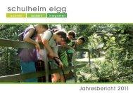 Jahresbericht 2011 - Schulheim Elgg