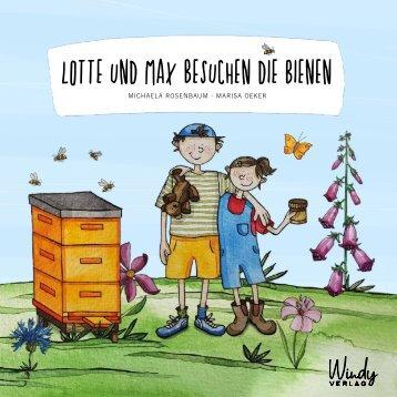 Leseprobe Lotte und Max besuchen die Bienen