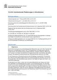 12.2.04. Innerkantonale Platzierungen in Schulheimen - Sozialhilfe ...