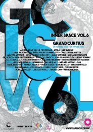 Programme de l'exposition Inner space vol. 6