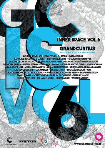 Programme de l'exposition Inner space vol. 6