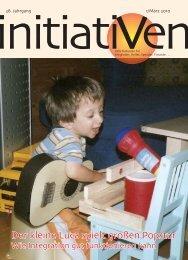 Bestellungen: Verein Initiativ für behinderte Kinder und Jugendliche