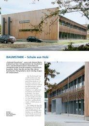 BAUMSTARK – Schule aus Holz - Kroeff Architekten