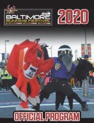 2020 Baltimore Running Festival Official Program