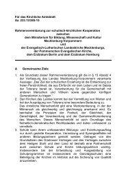 Rahmenvereinbarung zur schulisch-kirchlichen Kooperation in ...