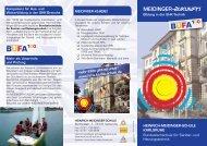 MEIDINGER-Zukunft! - Heinrich-Meidinger-Schule Karlsruhe
