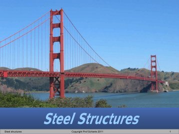 Steel Structures - Engineering Class Home Pages