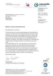 Serienbrief an Firmen wegen Sonderbeilage Zeitungen_SR