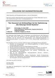 Programm und Einladung - e5-Salzburg