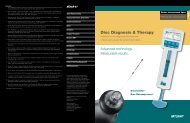 Disc Diagnosis & Therapy - Stryker Interventional Spine