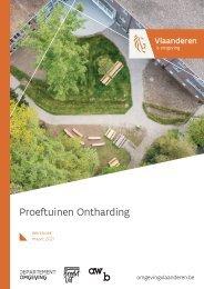 Proeftuinen Ontharding - werkboek