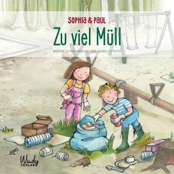 Leseprobe Sophia & Paul - Zu viel Müll