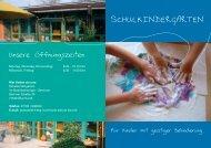 SCHULKINDERGARTEN - Bodelschwingh-Schule Murrhardt