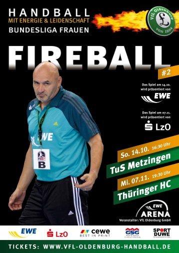 TuS Metzingen, 07.11.2012 - VfL Oldenburg