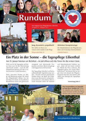 Ein Platz in der Sonne – die Tagespflege Lilienthal - Pflegedienst ...