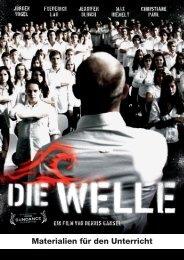 Bestellung Filmhefte DIE WELLE - SCHULKINO.at