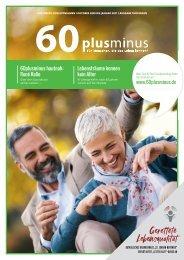 60plusminus, Ausgabe Herbst/Winter 2020/21