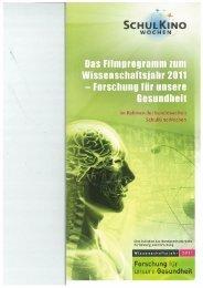 SCHULKINO Das Filmprogramm zum ... - FCS-Freiburg