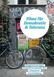 Filme für Demokratie & Toleranz - Schulkino Dresden