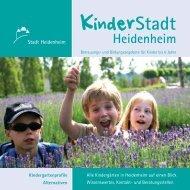 Bildungs- und Entwicklungsfeld Sinne - Stadt Heidenheim