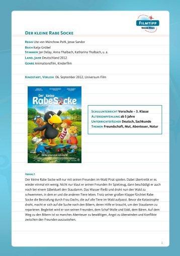 FilmTipp Der kleine Rabe Socke - Vision Kino