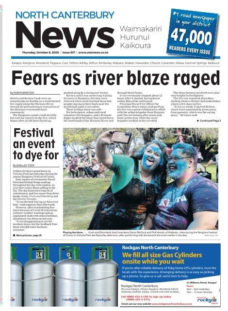 North Canterbury News: October 08, 2020