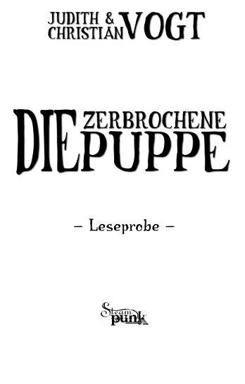 """Leseprobe """"Die zerbrochene Puppe"""" - Feder & Schwert GmbH"""