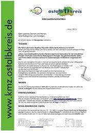 4. Newsletter 2012 - www . kmz-ostalbkreis . de