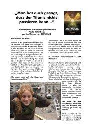 Interview mit P Kalenberg gestaltet
