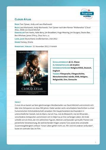 FilmTipp Cloud Atlas - Vision Kino
