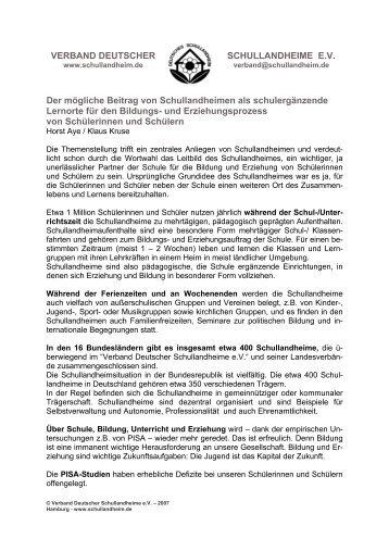 Download... - Verband Deutscher Schullandheime eV