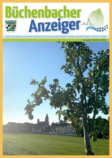 Oktober 2020 - Büchenbacher Anzeiger