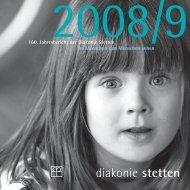 160. Jahresbericht der Diakonie Stetten Im Menschen den ...