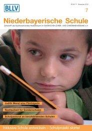 """Redaktionsschluss """"Niederbayerische Schule"""" - Bayerischer Lehrer"""