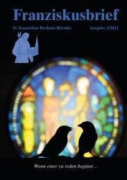 Krippenwache vom 27. bis 30. Dezember 2011 - St. Franziskus ...