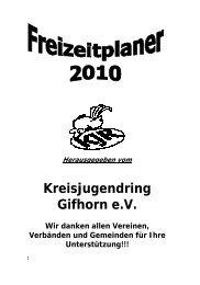 (0 53 71) 1 69 27 Fax - Kreisjugendring Gifhorn eV