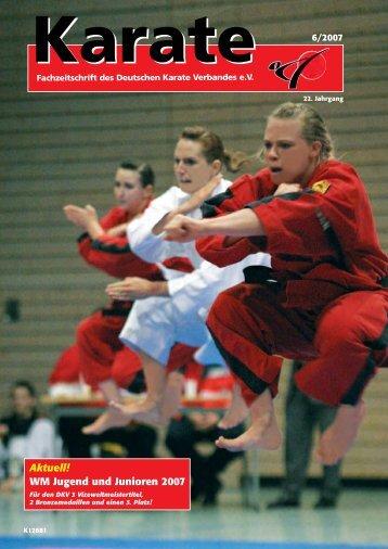 DKV-Tag 2007 - Chronik des deutschen Karateverbandes