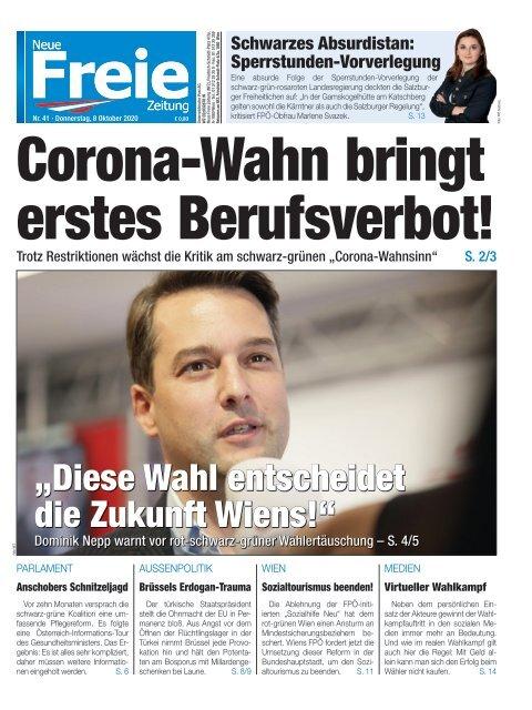 Corona-Wahn bringt erstes Berufsverbot!