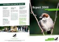 Report 2008 - Deutsche Wildtier Stiftung